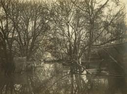 Paris Inondations De 1910 Crue De La Seine Ancienne Photo Anonyme - Places