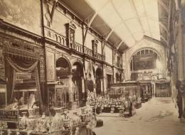 Paris Exposition Universelle De 1889 Section Belge Porcelaine Fischer Ancienne Photo - Photographs