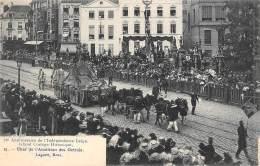 BRUXELLES - 75e Anniversaire De L'Indépandance Belge - Grand Cortège Historique - Char De L'Abolition Des Octrois - Feesten En Evenementen