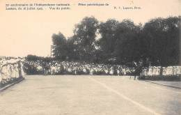BRUXELLES - 75e Anniversaire De L'Indépandance Nationale - Fêtes Patriotiques De Laeken, Du 16 Juillet 1905 - Vue Public - Feesten En Evenementen