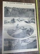 ANNEES 20/30 LE MEETING D AVIATION DE RONCHIN VIATEUR DETROYAT CAVALLI DE LA COMBE MARYSE HILTZ - Vieux Papiers