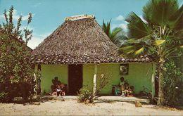 Republica De Panama, Vivienda Tipica En Un Pueblo, Typical Dwelling In A Village In The Interior Of Repub. Of Panama - Panama
