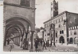 Ascoli Piceno Piazza Del Popolo 1954 Animatissima Vg - Ascoli Piceno