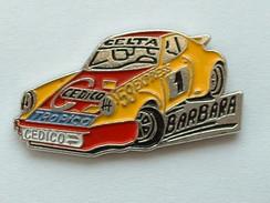PIN'S PORSCHE 911 - BARBARA - CEDICO - TROPICO - CELTA - Porsche