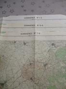 SOMMIERES (30) LOT De  3 CARTES  IGN Au 1/25000 - Détails Voir Les Scans - Topographical Maps