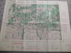 NANT (12) CARTE  IGN Au 1/50000 - TYPE M- Détails Voir Les Scans - Topographical Maps