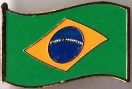 Pin / Badge Flag Brazil - Badges