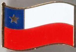 Pin / Badge Flag Chile - Badges