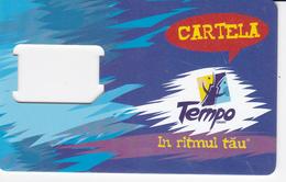 Moldova ,  Moldavie  Moldau ,  SIM Phonecard - Orange , Tempo , Used - Moldova