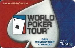 Travel Chanel World Poker Tour Poker Guide Card - Casino Cards
