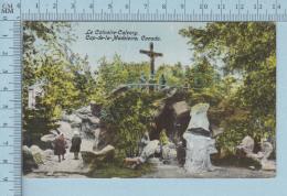 Trois-Rivieres Quebec Canada- Le Calvaire Cap-de-la-Madeleine , Animée CPA-  Postcard Carte Postale - Trois-Rivières
