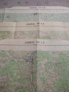 LODEVE (34) LOT De  3 CARTES  IGN Au 1/25000 - Détails Voir Les Scans - Topographical Maps