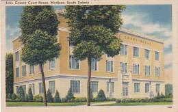 South Dakota Madison Lake County Court House 1940 - Verenigde Staten