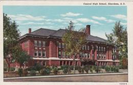 South Dakota Aberdeen Central High School 1950 Curteich - Aberdeen