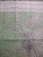 ALES (30) LOT De  2 CARTES  IGN Au 1/25000 - Détails Voir Les Scans - Topographical Maps