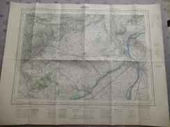 NIMES (30) CARTES  IGN Au 1/50000 - Détails Voir Les Scans - Topographical Maps