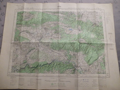 UZES (30) CARTES  IGN Au 1/50000 - Détails Voir Les Scans - Topographical Maps