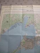 SETE (34) LOT De 2 CARTES  IGN Au 1/25000 - Détails Voir Les Scans - Topographical Maps