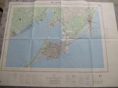 SETE (34)  CARTE  IGN Au 1/25000 - Détails Voir Les Scans - Topographical Maps