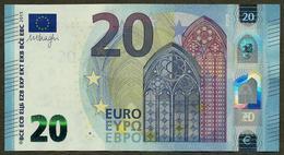 France - 20 Euro - U015 A1 - UA0361100XXX - Draghi - UNC - EURO