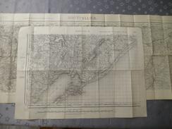 MONTPELLIER (34)  LOT De 3 CARTES  IGN : 2 Au  1/50000 , 1 Au 1/25000 - Détails Voir Les Scans - Topographical Maps