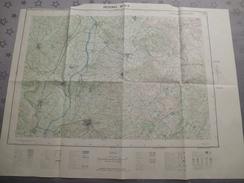 PEZENAS (34)  CARTE  IGN  1/25000 - 1963 - Détails Voir Les Scans - Topographical Maps