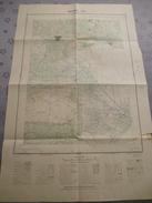 BEZIERS (34)  CARTE  IGN  1/25000 - 1952 - Détails Voir Les Scans - Topographical Maps