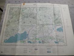 LUNEL (34) CARTE  IGN  1/50000 TYPE 1922 - 1972 - Détails Voir Les Scans - Topographical Maps