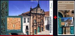 Ref. BR-V2017-23+E BRAZIL 2017 CHURCHES, BAROQUE STYLE CHURCH,, RELIGION, ARCHITECTURE, S/S MNH 1V - Unused Stamps