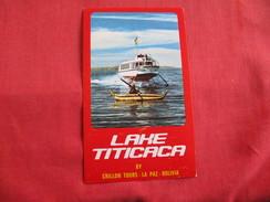 Lake Titicaca Crillon Tours Bolivia----  Ref 2790 - Bolivie