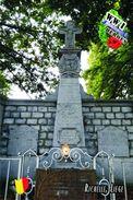 Carte Postale, Militaria, Monuments, World War I Monuments, Belgium (Liège), Richelle 1 - Monuments Aux Morts