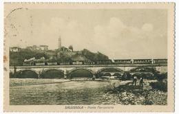 CPA - SALUSSOLA (Italie / Piemonte) - Ponte Ferroviario - Biella