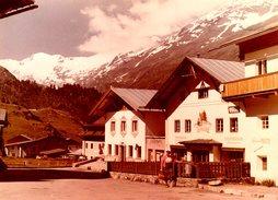 Grande Photo Couleur Originale Tyrol - Village Et Montagne - Haus Martin Broser - Orte