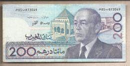 Marocco - Banconota Circolata Da 200 Dirhams - 1991 - Maroc