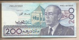 Marocco - Banconota Circolata Da 200 Dirhams - 1991 - Marocco