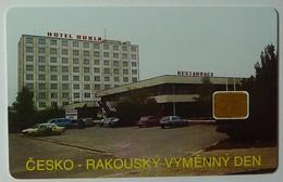 CZECH REPUBLIC - Chip - City Card - Hotel Dukla - Cesko Rakousky Vymenny Den - 11/94 - 10 Kc - 1000ex - Tschechische Rep.