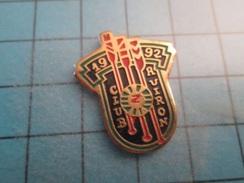 Pin510e Pin's Pins : BEAU ET RARE :  CLUB Z AVIRON 1992  , Marquage Au Dos : - --- - - Rowing