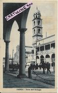 Emilia Romagna-faenza Citta Torre Dell'orologio Animata Particolare Veduta Anni 30/40 - Faenza