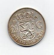 Paesi Bassi (Olanda) - 1961 - 2 E 1/2  Gulden - Argento - (FDC7360) - [ 8] Monedas En Oro Y Plata