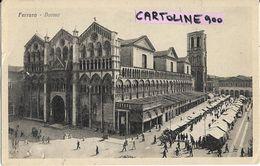 Emilia Romagna-ferrara Citta Mercato Duomo Animatissima - Ferrara