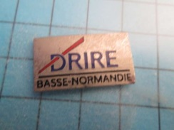 Pin510E Pin's Pins : BEAU ET RARE :  ADMINISTRATION DRIRE BASSE-NORMANDIE  , Marquage Au Dos : - --- - - Administrations