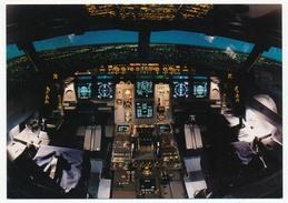 CPM - LUFTHANSA... Wilcommen Im Cockpit - Carte Publicitaire Année ? - Avions