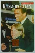 CZECH REPUBLIC - New TeleLine - Kosmopolitan - Arnold Schwarzenegger- 75 Kc - 3/94 - Mint - Czech Republic
