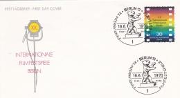 Berlin FDC 1970  Internationale Filmfestspiele Berlin   (DD16-9) - FDC: Buste