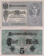 Germany 1917 - 5 Mark - Pick 56 UNC - Germany