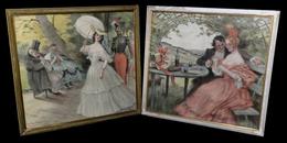 [LITHOGRAPHIE GASTRONOMIE MENU] REDON (Georges) - Menus Pour Le Café De Paris D'Armenonville. - Lithographies