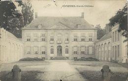 Espierres.  -   Vue Du Château.  (Kaart Beschadigd)   -   1912   Naar   Malines - Spiere-Helkijn