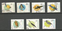 Ab ARGENTINA 1996 - 1998 Local Birds ,used Lot - Birds