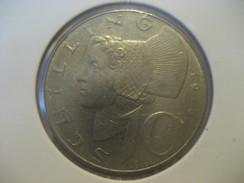 10 Schilling 1975 AUSTRIA Coin - Autriche