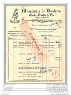 40 62 TOSSE LANDES 1951 Manufacture De Bouchon CHARLES DUVICQ Et  FILS Commande Mr BAUZA  ˆ BLACHER - France